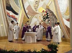 inaugurazione nuovo battistero casciago