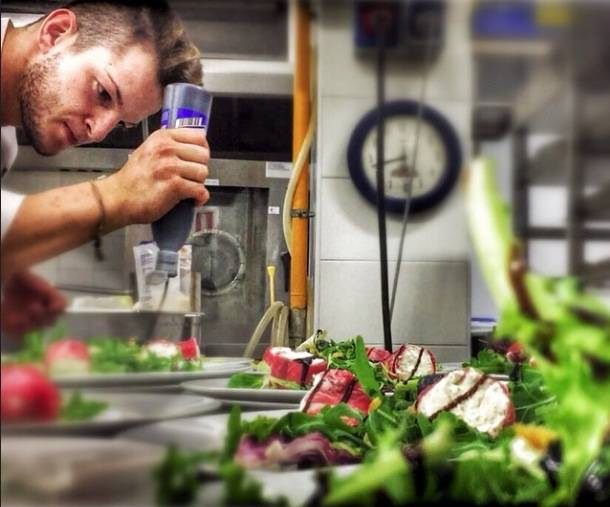 Luigi Cassago giovane chef varesino