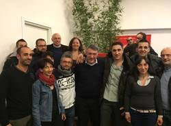 Maurizio Landini Fiom Cgil a Malpensafiere