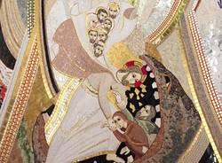mosaico battistero chiesa casciago