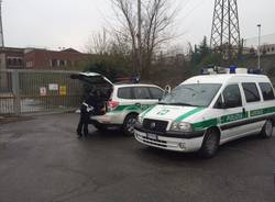 polizia locale sgombera rom ex-centrale enel