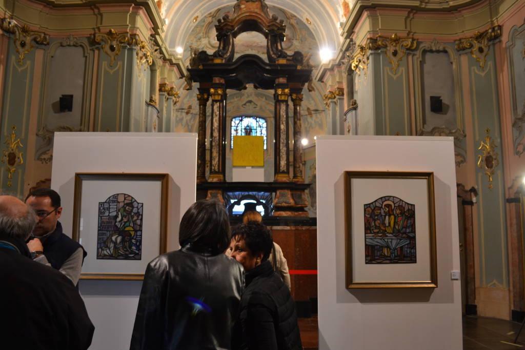 Pura Luce, Silvio Zanella in mostra