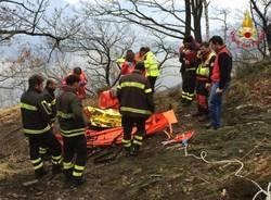 soccorso persona vigili del fuoco luino