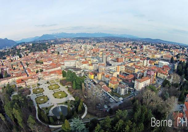 Varese dall'alto
