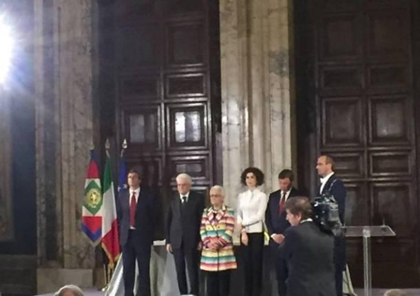 Premio Leonardo a Rosita Missoni