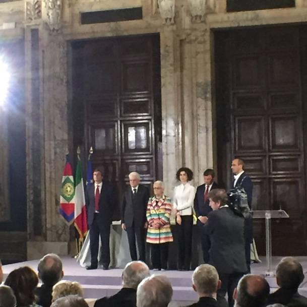A Rosita Missoni il Premio Leonardo