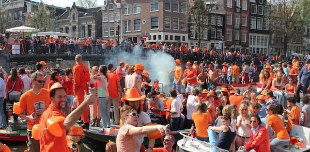 azzate, festa olandese
