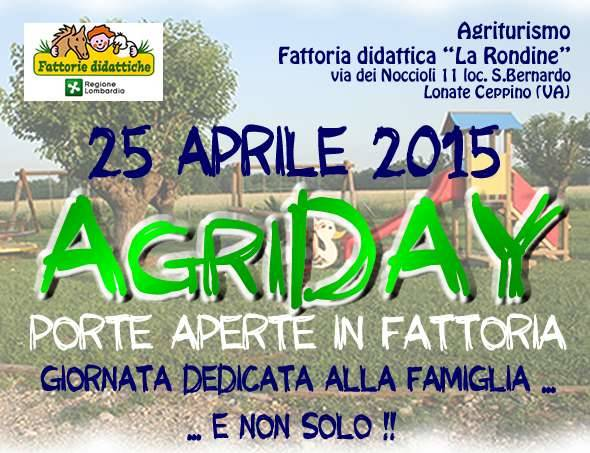 Agriday. Porte aperte in fattoria