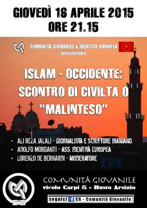 Islam-Occidente: scontro di civiltà o malinteso?