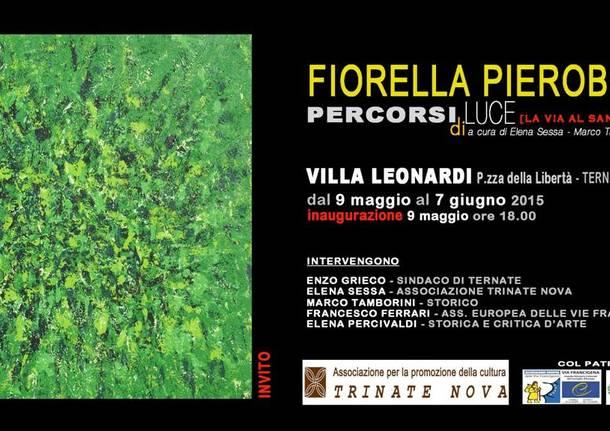 """Mostra dell\'artista Fiorella Pierobon \""""Percorsi di Luce\"""""""
