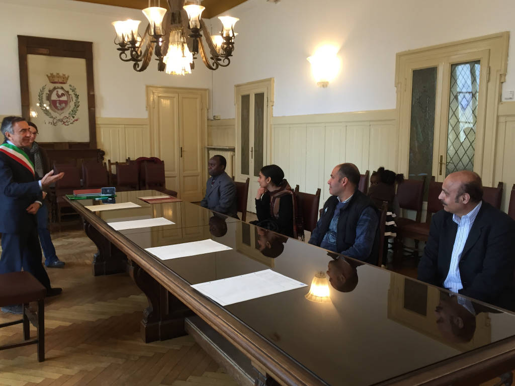 Deodato sacrista Gallarate Burundi diventa cittadino italiano