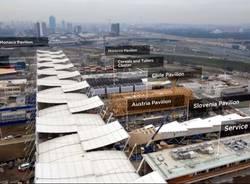 Il cantiere di Expo Milano 2015