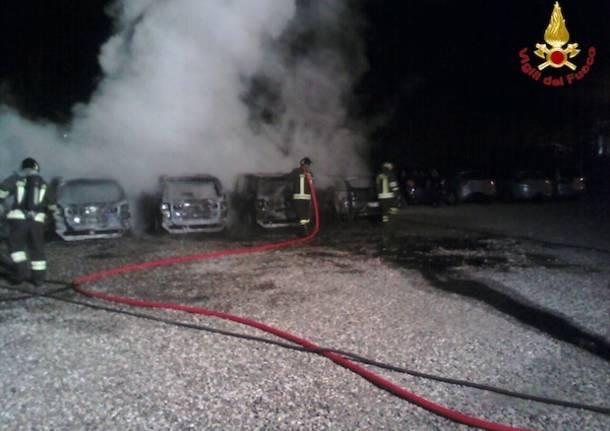 incendio auto 2015