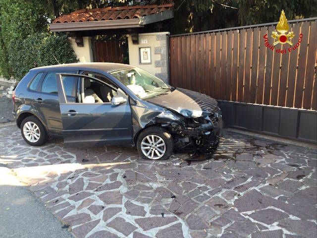 Incidente stradale Solbiate Olona