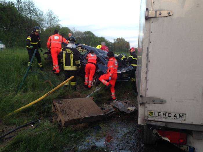 Incidente zona industriale di Cazzago Brabbia