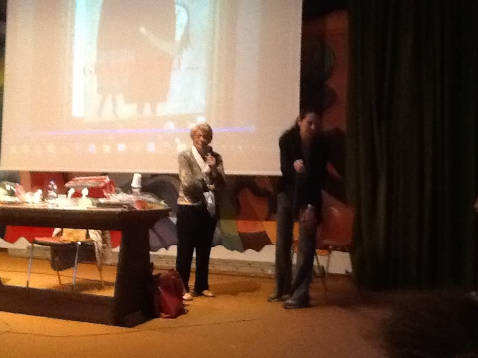 Lilli Pesaro incontra i ragazzi dell'istituto Pavoni