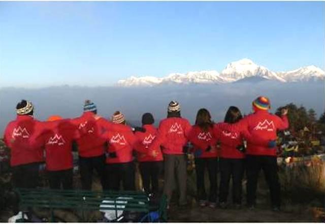 nepal, incontro