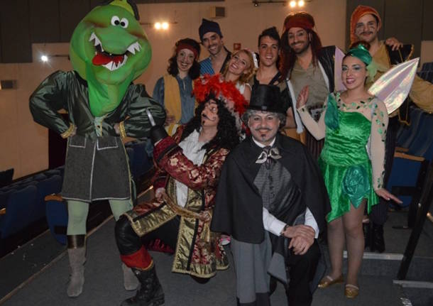 Peter Pan in scena all'Apollonio