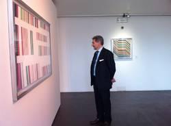 Raffaele Cattaneo visita Missoni, l'Arte, il Colore
