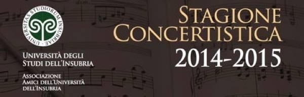 stagione concertistica insubria