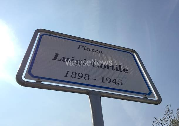 Una piazza per il maresciallo Luigi Cortile