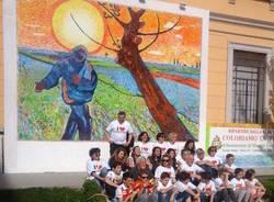 Van Gogh in piazza Mazzini a Tradate
