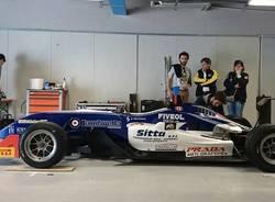 vettura formula 2 team tjemme