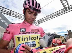alberto contador maglia rosa giro d'italia