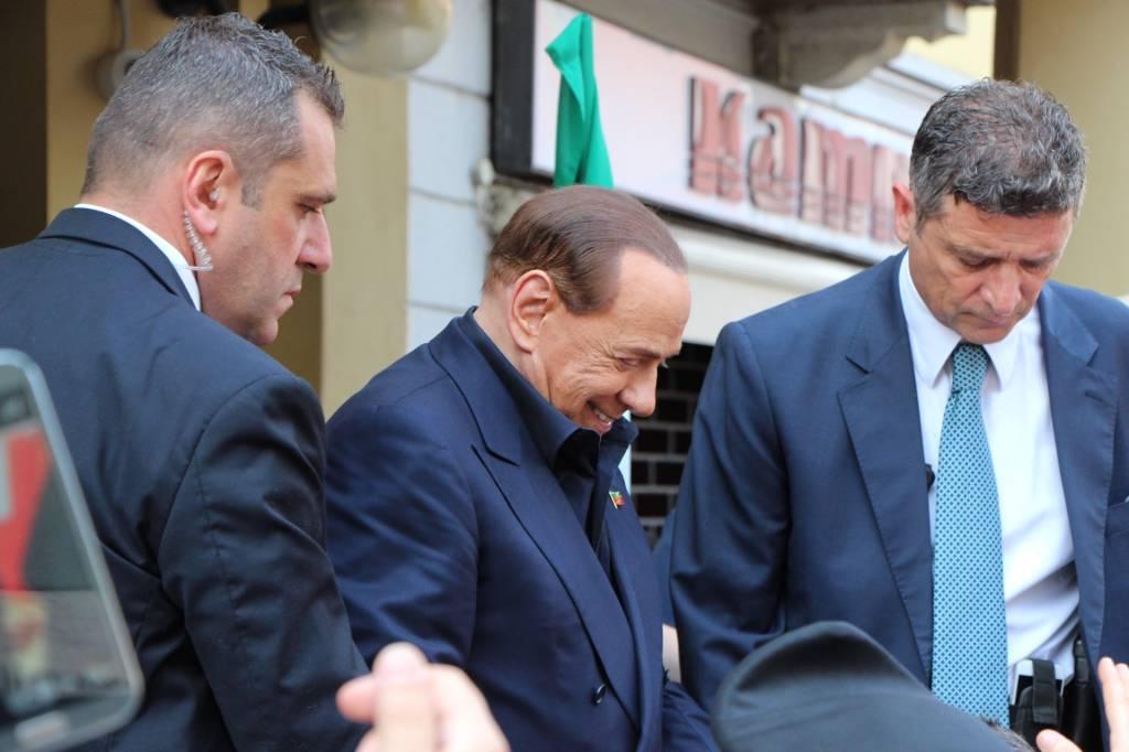 Berlusconi a Saronno