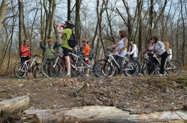 biciclettata cicloturismo boschi pedalarcultura