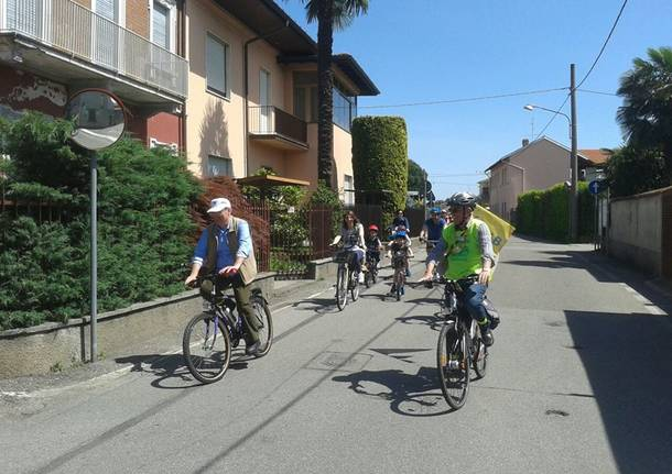 In bici a Cardano e Casorate