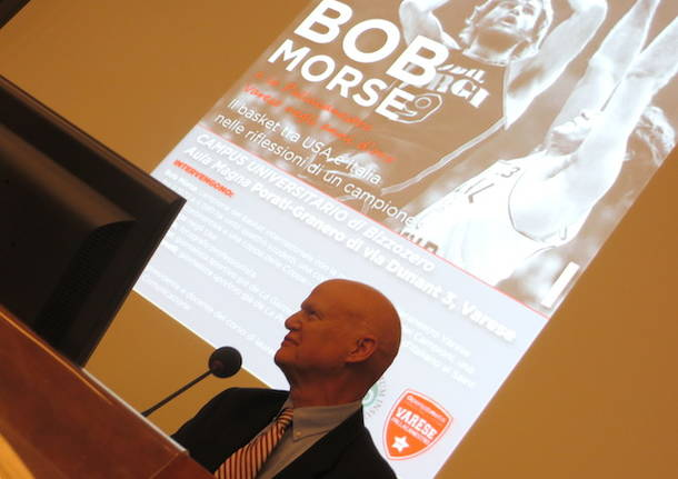 Bob Morse in cattedra all'Insubria
