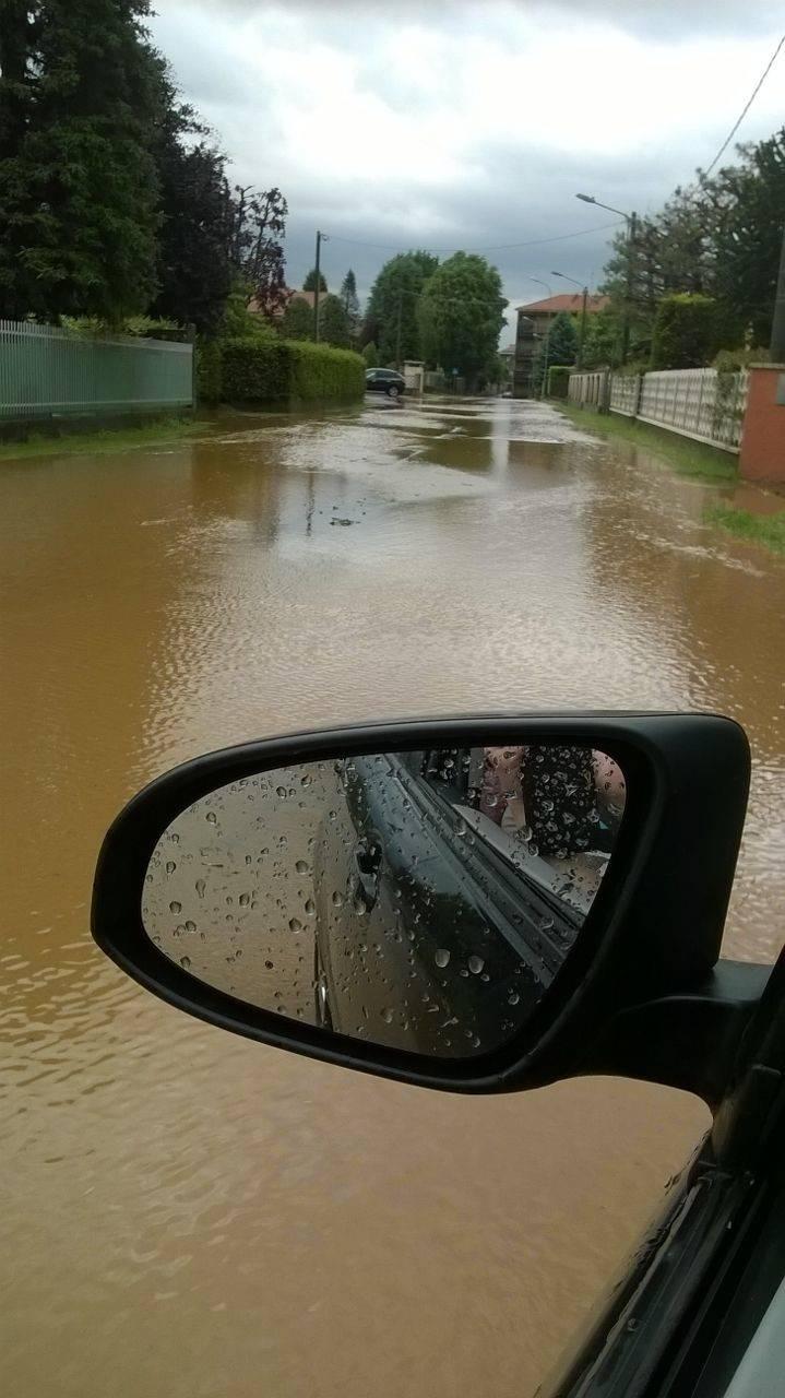Oltre al lago...abbiamo il fiume ogni volta che piove