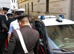 Esagitato contro Berlusconi fermato dai carabinieri