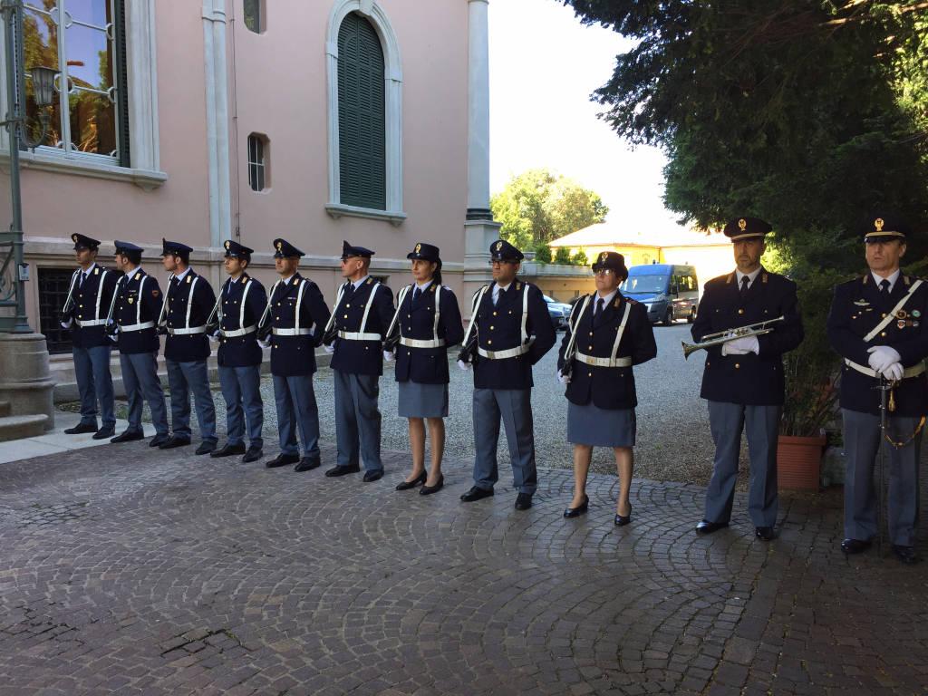 Festa polizia i mezzi