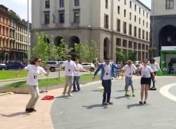 flash mob studenti contro il fumo