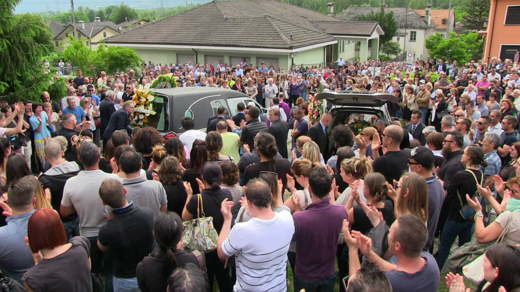 funerali davide e valentina