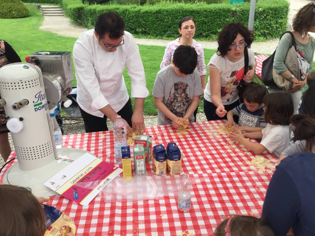 Grandi e piccoli chef ai Giardini Estensi