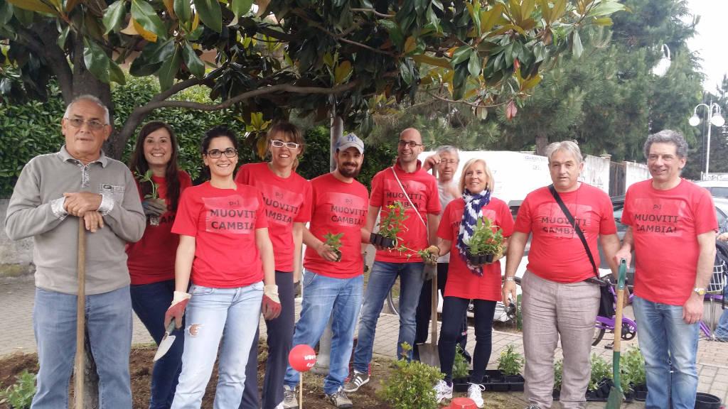 Guerrilla Gardening a Samarate