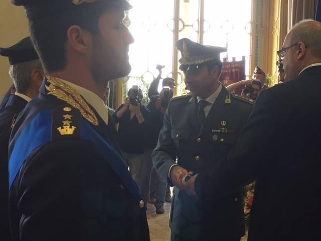 I premiati 2015 alla festa della Polizia