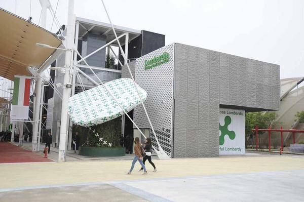 inaugurazione padiglione lombardia expo