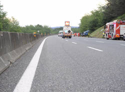 Incidente A26 Castelletto Ticino 2 morti maggio 2015