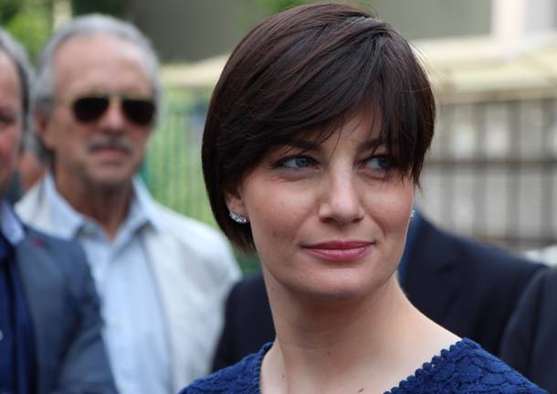 L'attesa per Berlusconi a Saronno