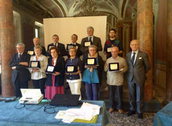 La premiazione del Sole D'oro 2015