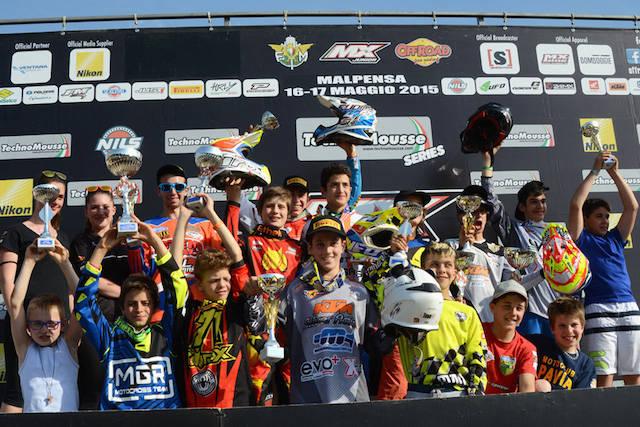 La tappa del Campionato Italiano Junior di motocross 2015 al Ciglione di Malpensa