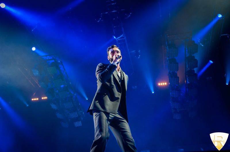 Marco Mengoni in concerto al Mediolanum Forum di Assago