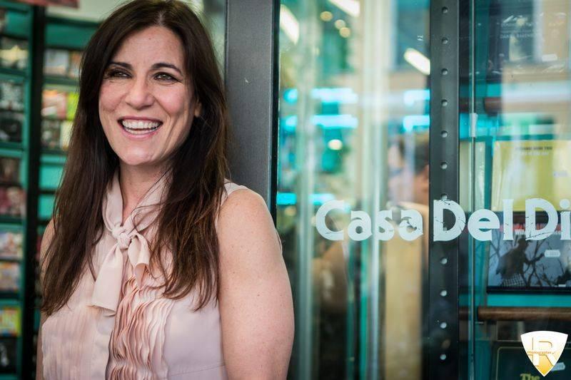 Paola Turci a Varese alla Casa del Disco