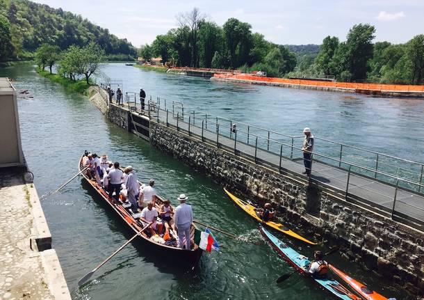 Passano le barche alla Conca del Panperduto