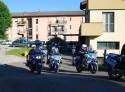 Polizia stradale giro d'Italia scorta