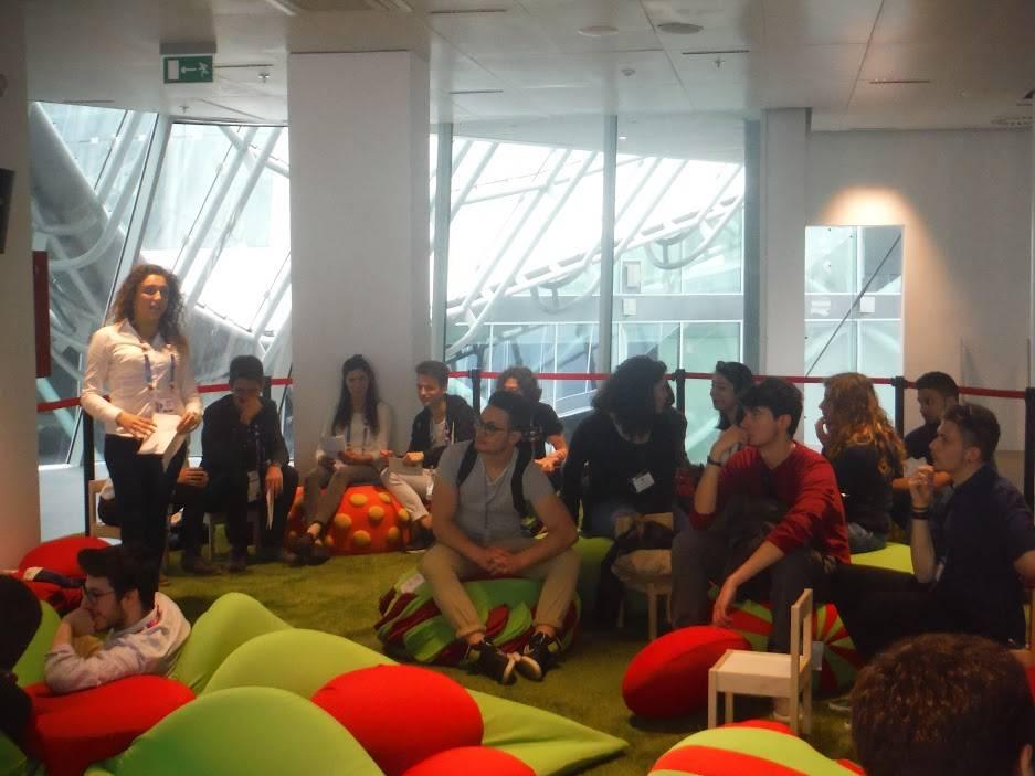Studenti del Geymonat a Expo